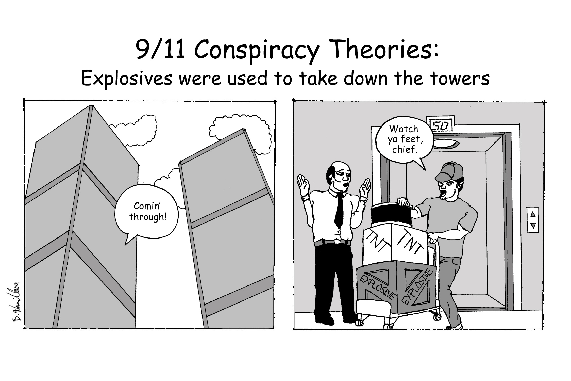 How About We Assemble All Of The 9 11 Conspiracy Theorists In A Few Stadiums Because There Are Unfortunately Enough To Fill Them And Let Brown